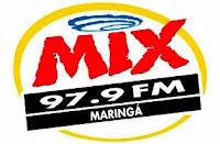 Rádio Mix FM de Maringá PR ao vivo