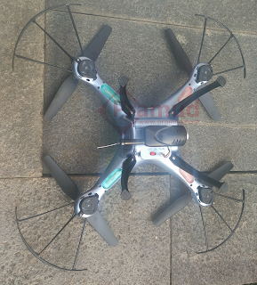 review lengkap drone syma X5 series