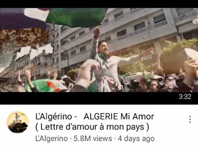 أغنية L'Algerino الجديدة الرائعة ...كن أول من يراها