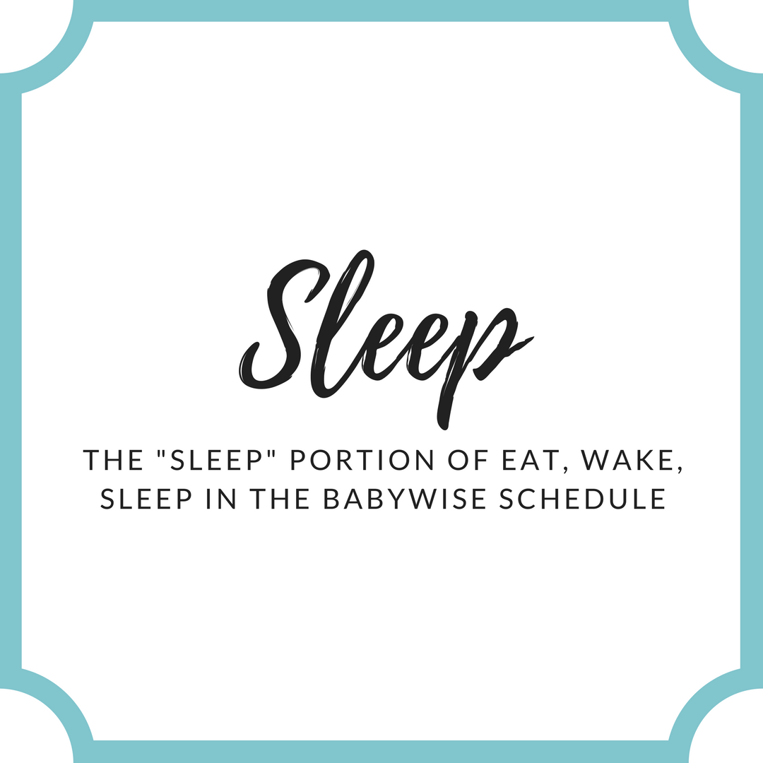 Everything you need to know about the sleep portion of the Babywise schedule | baby sleep | sleeping through the night | babywise | baby naps | #babywise #babysleep