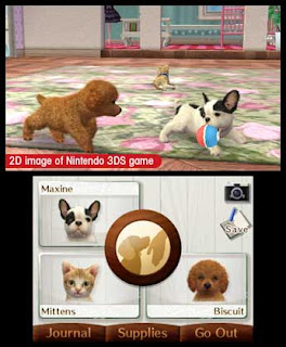 Nintendogs + Cats - French Bulldogs and New Friends 3DS CIA Region Free