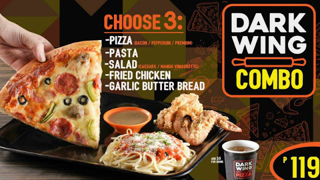 Dark Wing Pizza Parkmall Mandaue City Cebu