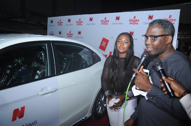 Opera News gives away a brand new car to super user during World Cup giveaway
