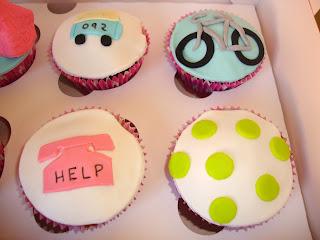 Cupcakes profesiones y aficiones