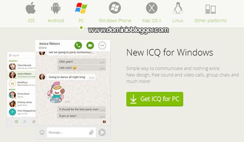 Videollamadas ICQ gratis