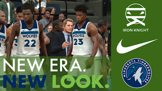 "Minnesota Timberwolves ""Association"" Jerseys for NBA 2K17"
