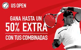 sportium US Open: Hasta un 50% extra en Combinadas