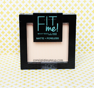 Cipria Fit Me Matte+Poreless  Maybelline