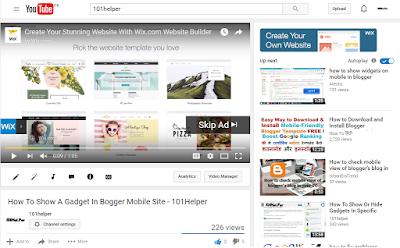 youtube-adsense-ads-Bloggersbay