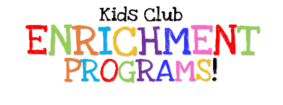 News: Kids Club Enrichment Programs Fall Schedule