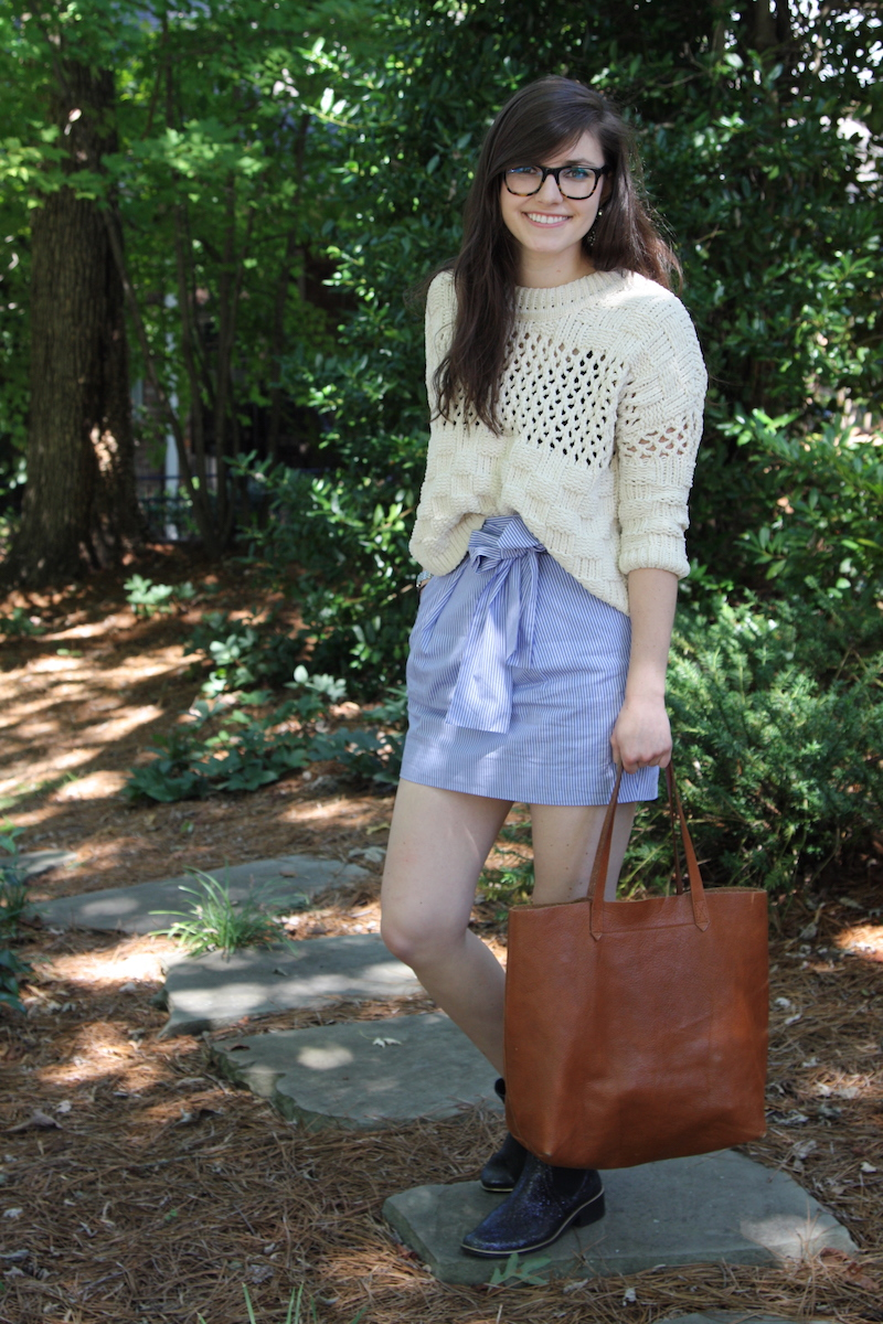 2017, OOTD, fall, summer, Anthropologie, J.Crew,