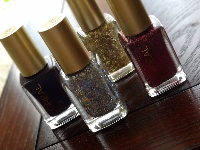 L'Oreal Holiday Soiree Nail Polish Collection