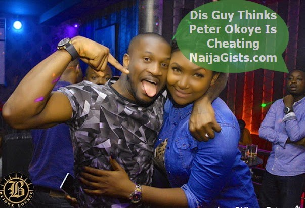 peter okoye cheating on wife