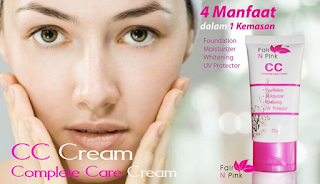 Fari n Pink CC Cream atau Complete Care Cream