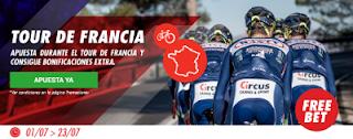 circus promocion Tour de Francia 500 euros extra 1-23 julio