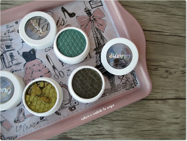 Sombras de Colourpop - Telepathy - Flower Shop - Hammered
