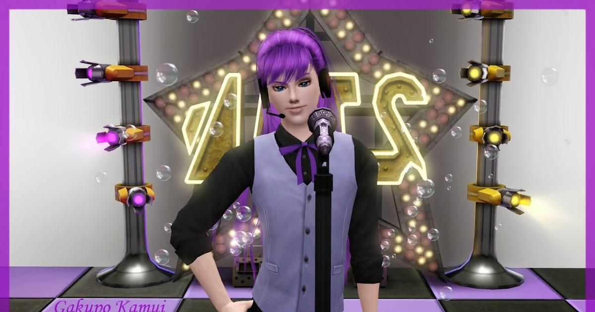 NG Sims 3: Kamui Gakupo - 神威がくぽ (Vocaloid Sims)