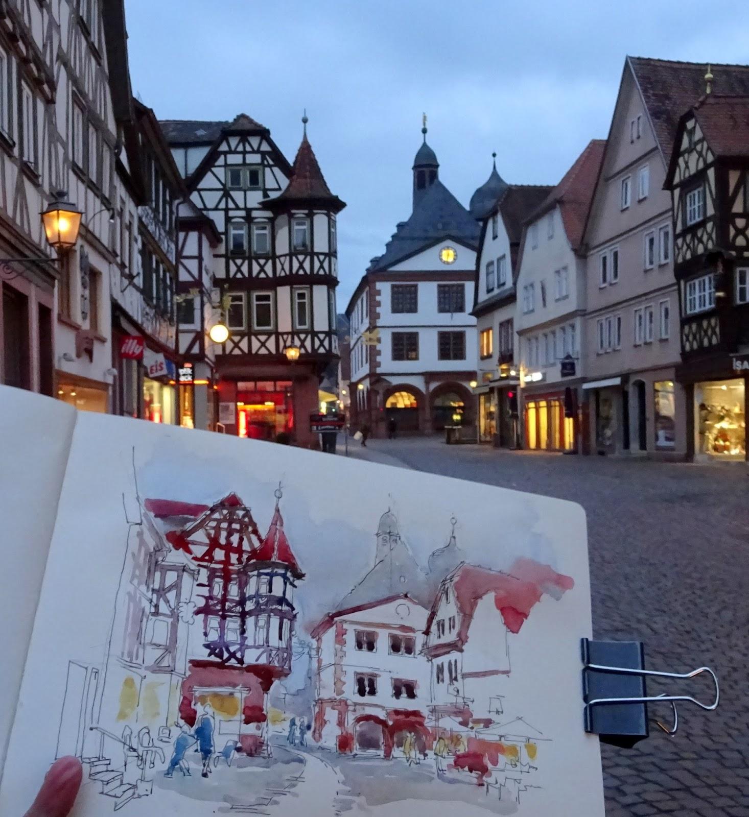 Rene fijten sketches lohr am main for Heimbach lohr am main