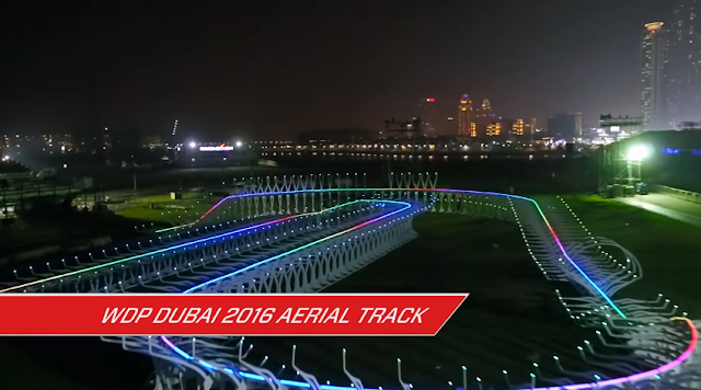 Video dal World Drone Prix di Dubai