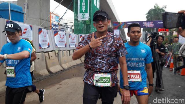 Timses Prabowo-Sandi Tantang Kubu Jokowi-Ma'ruf Ikut Lomba Lari