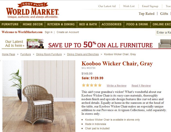 Fast Forward Two Years I Am Now Considering Kubu Chairs For Our Breakfast Eat In Kitchen Unfortunately World Market Has Discontinued Their