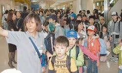 福島県の小中学生108人沖縄へ無料招待