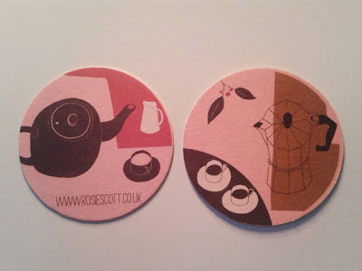 New mail out of beer mat tea coasters !