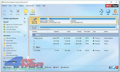 MiniTool Partition Wizard Professional 10.2.1 Full Version