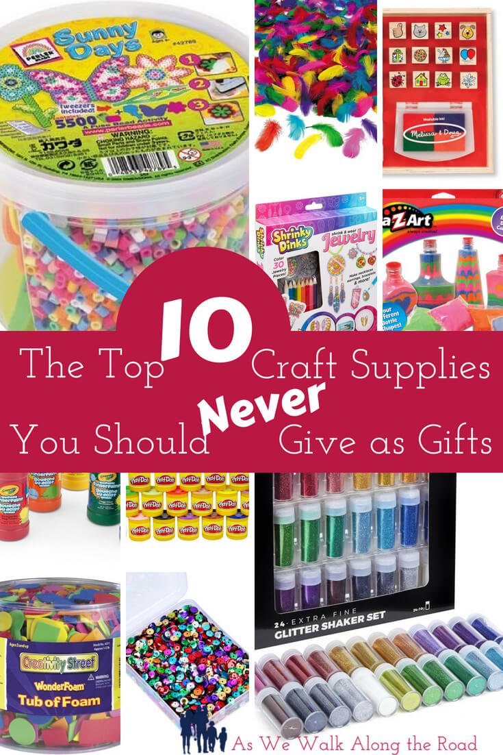 Don't buy these craft supplies for kids