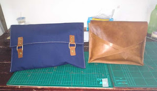 buat tas tangan sarung laptop
