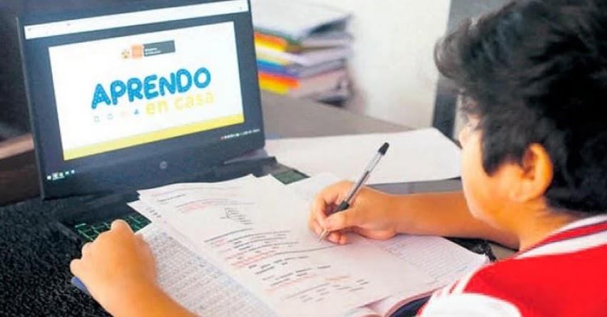 MINEDU: Clases escolares se extenderían hasta Marzo del 2021, informó el Ministerio de Educación