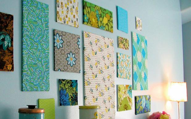 hiasan dinding warna-warni