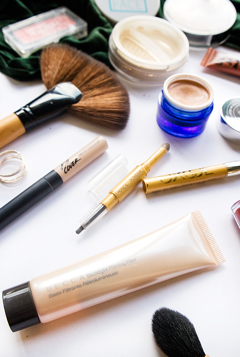 Clio Kill Cover Airy Fit Concealer and Becca Backlight Filter Review