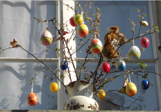 Easter egg decorations switzerland