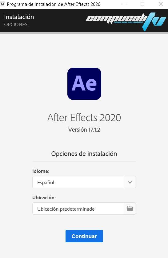 After Effects CC 2020 Versión Full Español