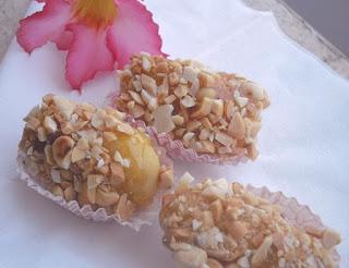 Resep Makanan Ringan Kue Caramel Kacang