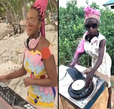 Ikorodu Bois Recreate DJ Cuppy During Her Dj Session