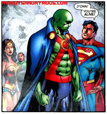 Martian Manhunter possible Superman Batman character