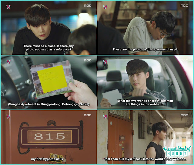 with thelp of soo bong kang chul find the place wher killer is living and with hypothesis he go there - W - Episode 12 Review