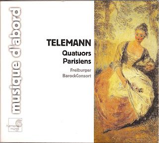 Kammermusikkammer Georg Philipp Telemann Pariser Quartette Nr 1 6