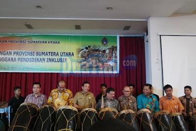 Sumatera Utara Resmi Sebagai Provinsi Pendidikan Inklusif