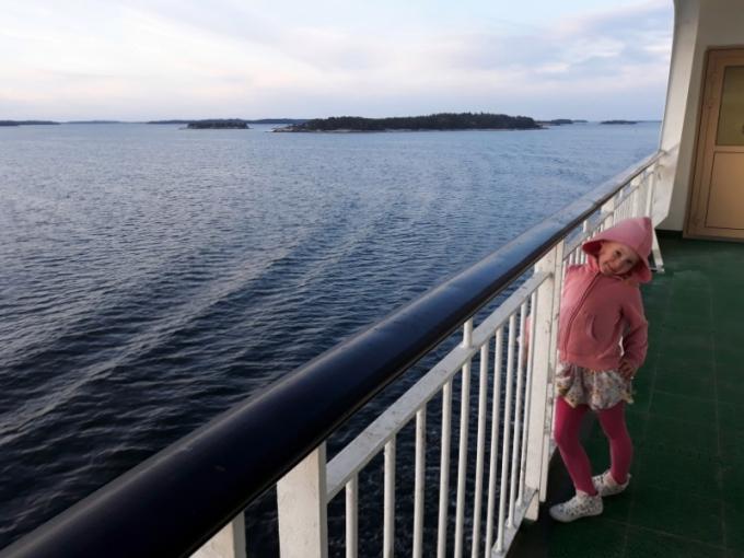 Baltic Princess lasten kanssa - Risteily Turusta Tukholmaan