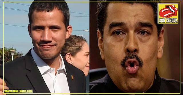 Guaidó desafió a Maduro a cerrar la embajada de Alemania en Caracas