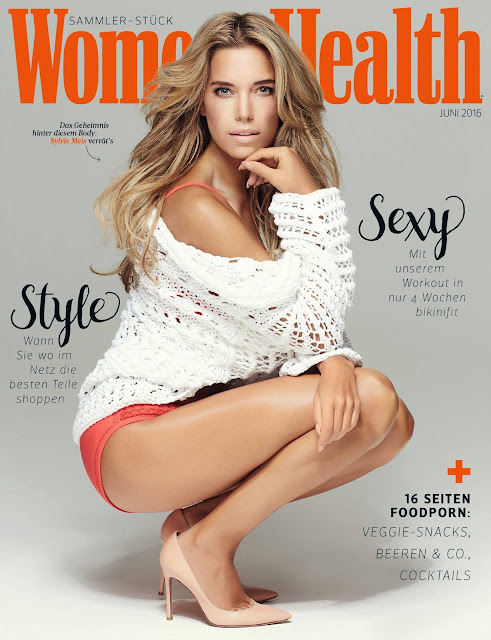 Television Personality, Model, @ Sylvie Meis - Women's Health Germany, June 2016