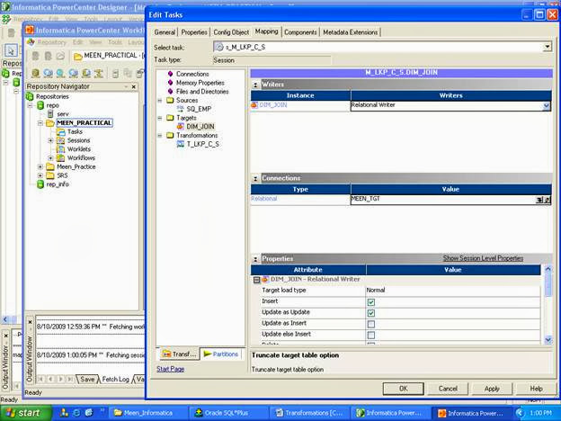 Lookup Transformation in Informatica