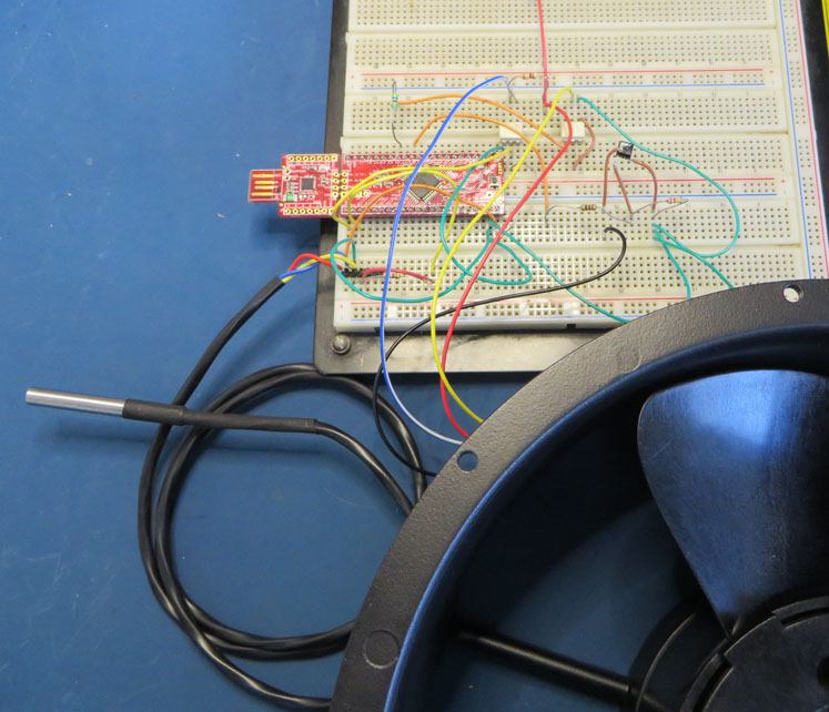 Electronics Blog: PSoC4 DC Fan Controller with I2C