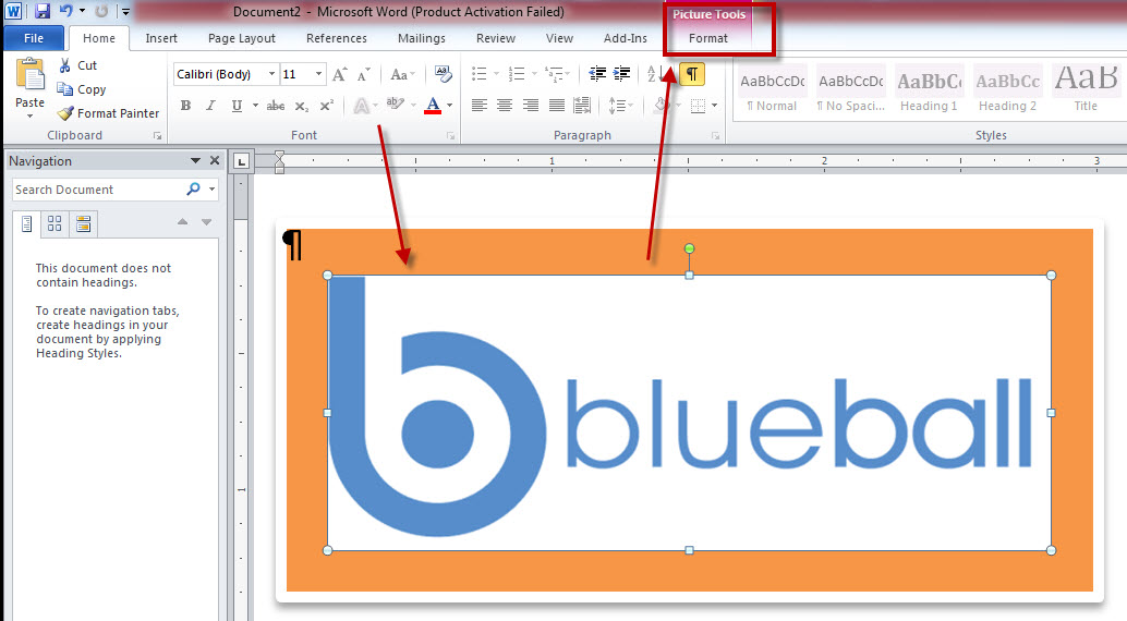 Microsoft Word Make picture background to be transparent - how to make a picture transparent