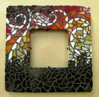 but junior david lee really outdid himself with his striking very dangerous design above - Mosaic Frames