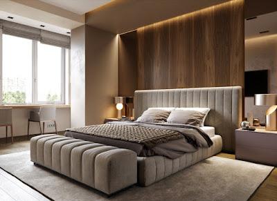 Desain Kamar Tidur Modern