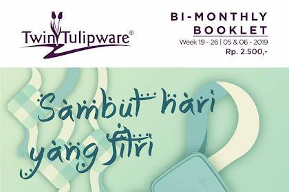 Katalog Promo Twin Tulipware Booklet Juli 2019